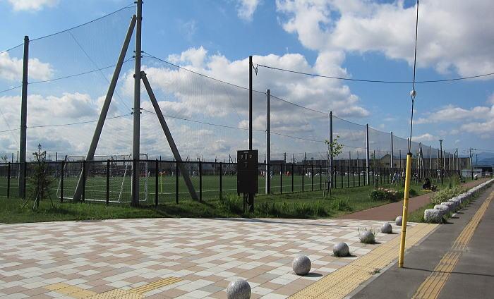 東雁来公園サッカー場