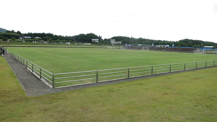笠間市総合公園芝生スポーツ広場(笠間サッカー場)