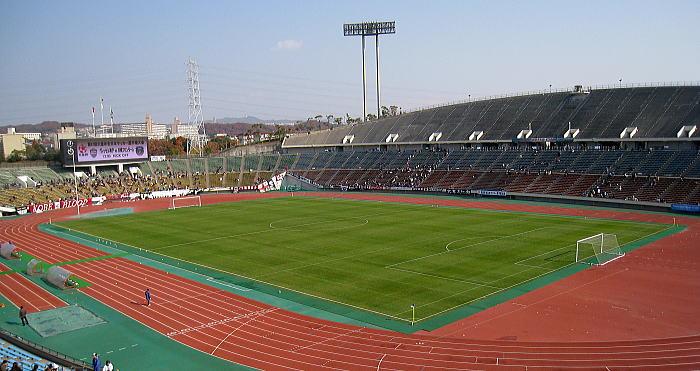 神戸総合運動公園ユニバー記念競...