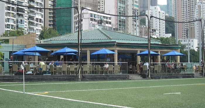 香港足球倶楽部球技場
